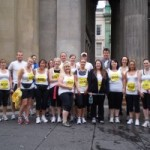 Thompsons Solicitors' Great Scottish Run team