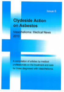 Mesothelioma Medical News - Issue 6