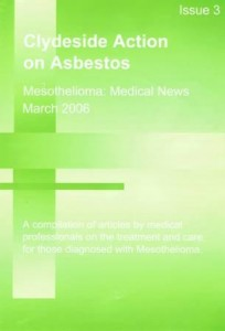 Mesothelioma Medical News - Issue 3