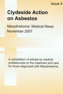 Mesothelioma Medical News - Issue 4