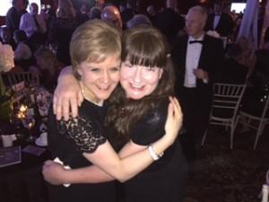 First Minister Nicola Sturgeon & Phyllis Craig