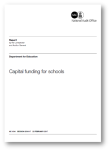 Capital funding for Schools - National Audit Office