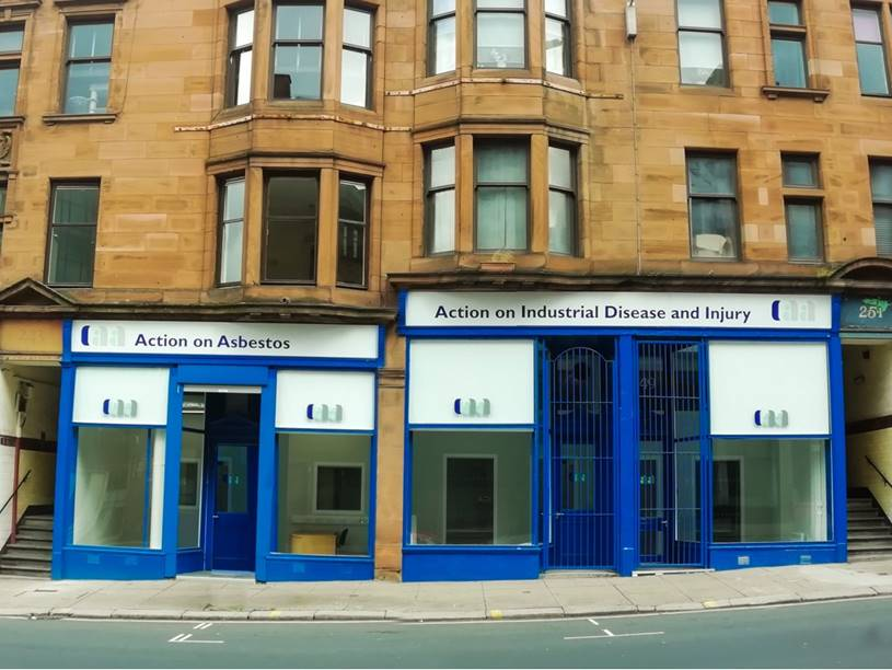 Our newly refurbished premises with much-improved facilities for our service users